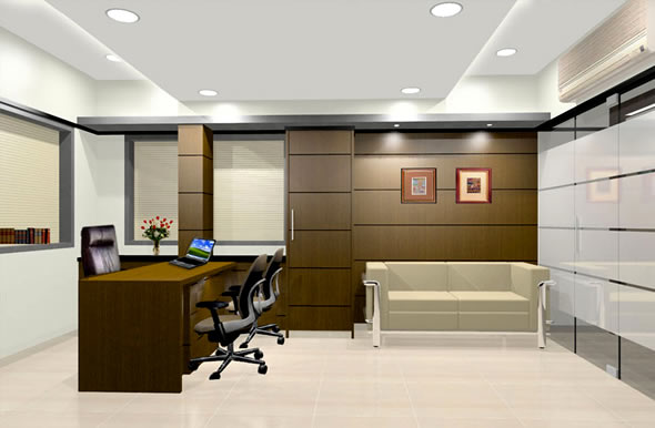 Interior Design Of Office Furniture. Office Interior Decoration ...